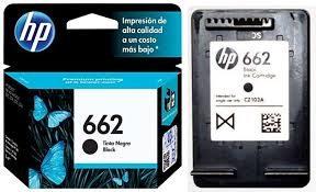 CARTUCHO ORIGINAL HP 662 (PRETO) - CZ103AB 2ML