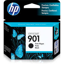 CARTUCHO ORIGINAL HP 901(CC653AB) PRETO 4.5ml