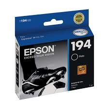 CARTUCHO ORIGINAL EPSON T194 120 - PRETO 4 ML(XP104/204/214)