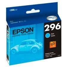 CARTUCHO ORIGINAL EPSON T296 220 CIANO 4ML