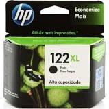 CARTUCHO ORIGINAL HP 122XL PRETO(CH563HB) 8.5ML