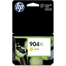 CARTUCHO ORIGINAL HP 904XL AMARELO (T6M12AB - 9.5 ml)