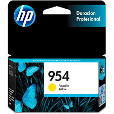 CARTUCHO ORIGINAL HP 954 AMARELO - L0S56AB (10 ml)