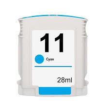 Cartucho de Tinta HP 11 C4836A Ciano (28 ml)