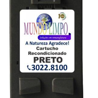 CARTUCHO REMANUF. HP 21A(C9351AL) - PRETO