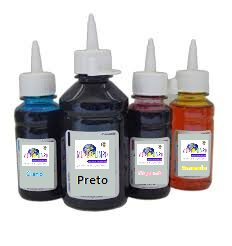 REFIL DE TINTA BROTHER UNIV. 970/LC12/LC1000/LC1200/LC77 - CYAN - 200ML