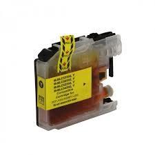 Cartucho Compatível de Tinta Brother Amarelo - LC505Y - XL / J100/J105/J200