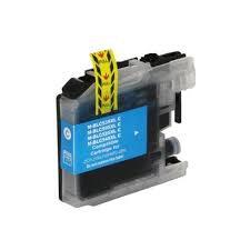 Cartucho Compatível de Tinta Brother Cian - LC505C - XL / J100/J105/J200