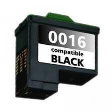CARTUCHO COMPATIVEL LEXMARK 16 PRETO(10N0016) - 15 ml