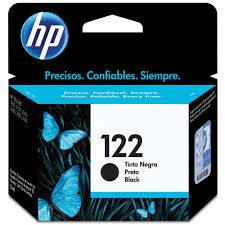 CARTUCHO ORIGINAL HP 122 PRETO (2ML) - CH561HB