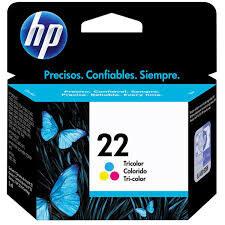 CARTUCHO ORIGINAL HP 22A (9352AL) COLORIDO. 5ML