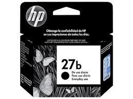CARTUCHO ORIGINAL HP 27B(8727B) PRETO. 10ML