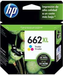 CARTUCHO ORIGINAL HP 662XL COLORIDO (8ML) CZ106AB