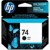CARTUCHO ORIGINAL HP 74 (CB335WB) PRETO. 5.5 ML