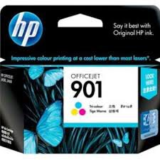 CARTUCHO ORIGINAL HP 901(CC656AL) COLORIDO