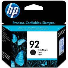 CARTUCHO ORIGINAL HP 92A(C9362WB) PRETO. 5ML