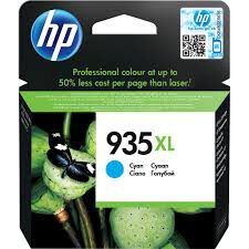 Cartucho Original HP 935xl C2P24AL Cyan - 6230 E3E03A 6830 E3E02A - 9.5ml