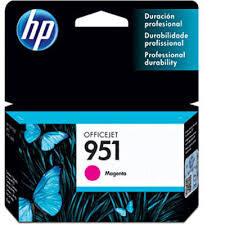 CARTUCHO ORIGINAL HP 951(CN051AL) MAGENTA 8ML