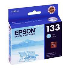 CARTUCHO ORIGINAL EPSON T133 220 CYAN