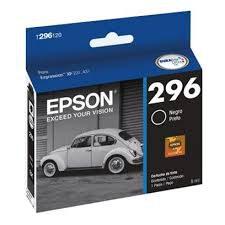 CARTUCHO ORIGINAL EPSON T296 120 PRETO 4ML