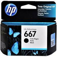 CARTUCHO ORIGINAL HP 667 PRETO 3YM79AL - 2ML